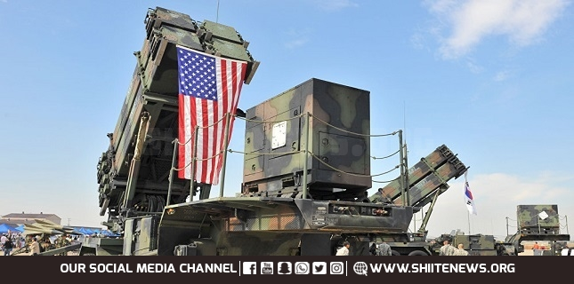 US Patriot Missile Deployment In Iraq