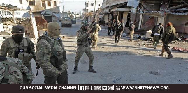 Turkish-backed Takfiri militants