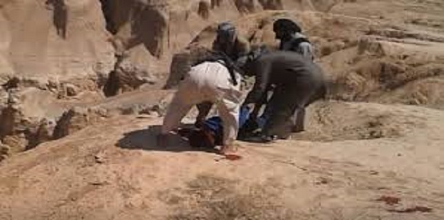 Daesh used gorge in Syria