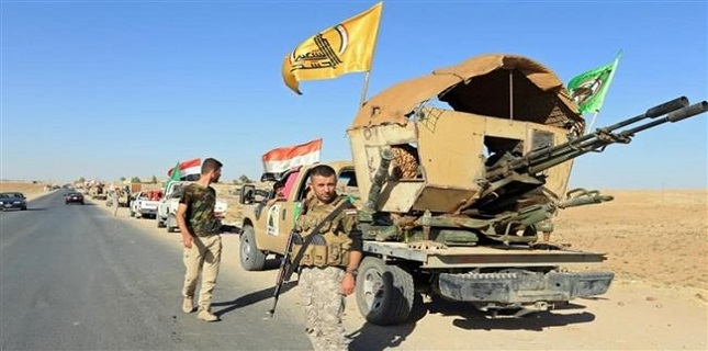 Iraqi PMU forces