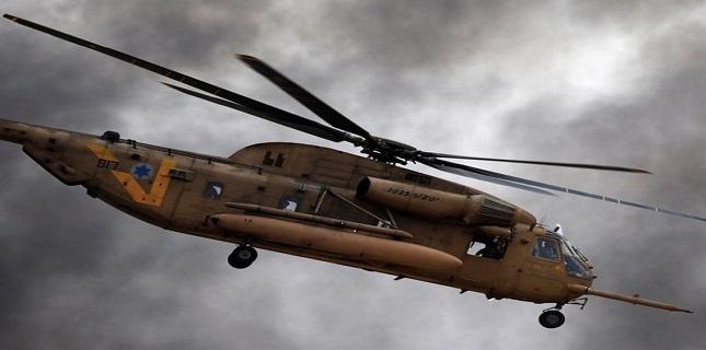 Israeli military helicopters