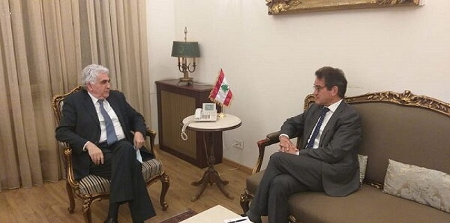 Lebanon summons German envoy