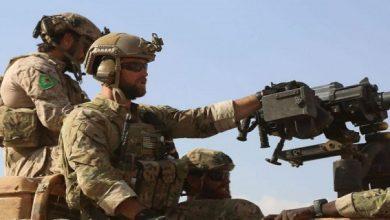 US Servicemen in Deir Ez-Zor