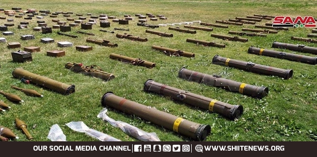 US-made TOW missiles