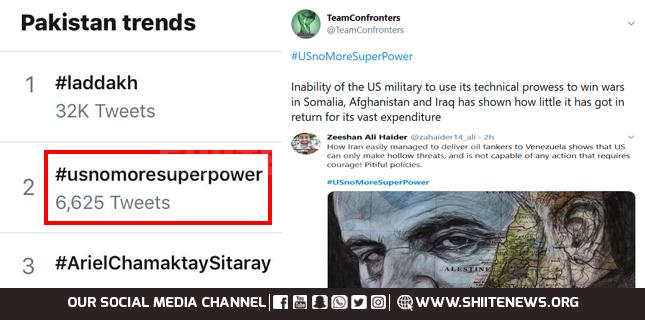 #USnoMoreSuperPower