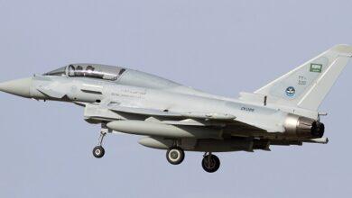 42 Saudi-led air strikes