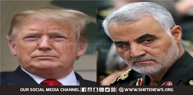 Iran Issues Arrest Warrant for Trump Over Assassinating Martyr Suleimani