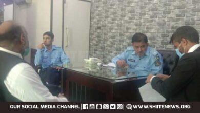 MWM leader seeks FIR registration against Ashraf Jalali