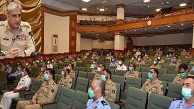 Pakistan Army chief calls for