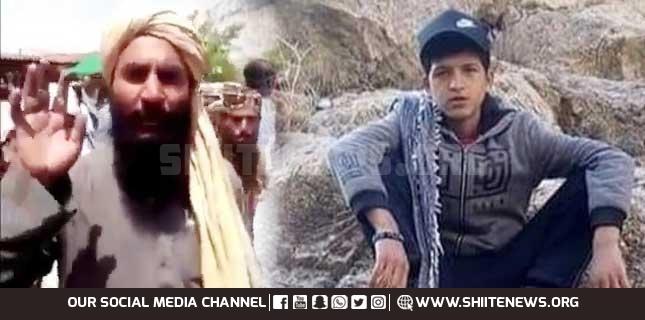 Orphan Hazara Shia boy martyred