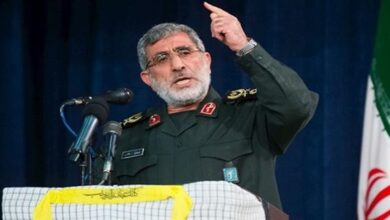 IRGC Quds Force Chief Qa'ani