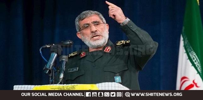 IRGC Quds Force Chief Qa'ani