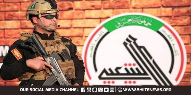 Iraqi anti-Daesh forces