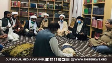 MWM officials meet sons of Allama Talib Jauhari