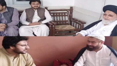 Nasir Shirazi led MWM delegation