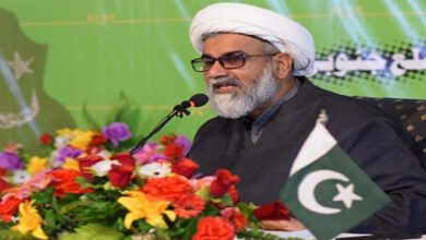 Allama Raja Nasir thanks PDM parties leaders for visit of Quetta sit in camp