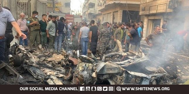 Syrian civilians killed