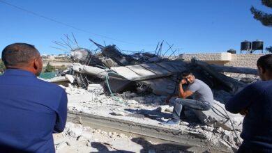 demolished Palestinian homes