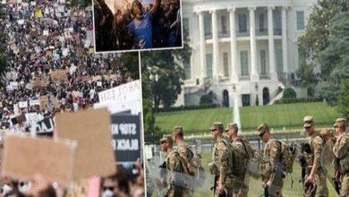 protests in Washington