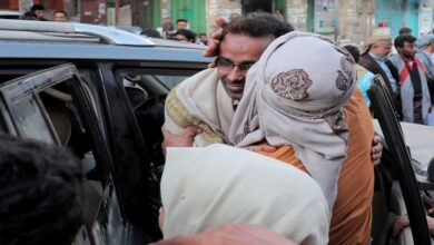 10 Yemeni prisoners freed