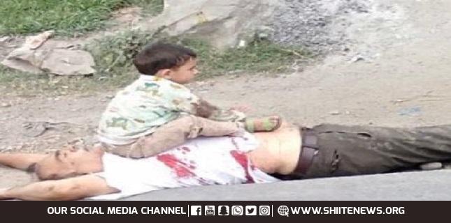 3-year-old Kashmiri child
