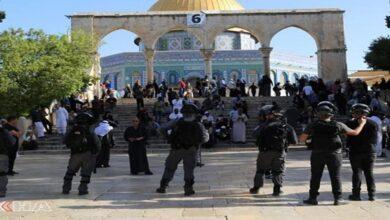 attacking Al-Aqsa Mosque