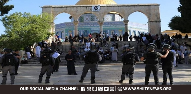 attacking Al-Aqsa Mosque