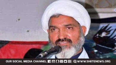 Allama Asadi asks Home Department why they allowed over 32 hate rallies