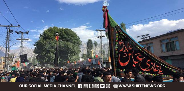 Shia Muslims observe Ashura Asad