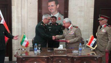 Iran Syria military cooperation
