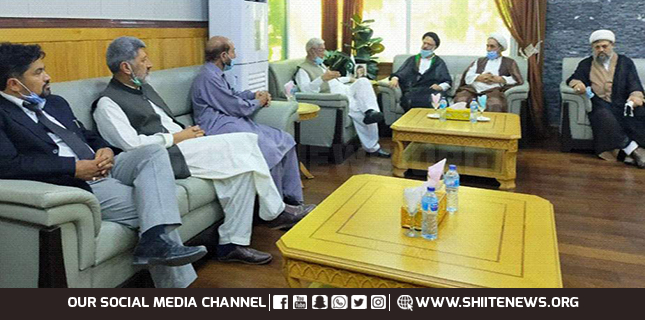 MWM GB leaders meet acting CM
