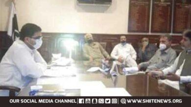 Qaumi Moharram Committee leaders meet