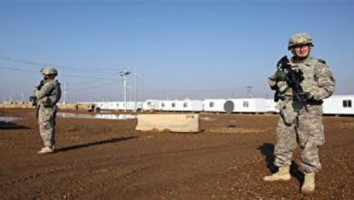 Rockets hit Al-Taji base