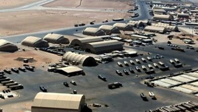 US base in Baghdad