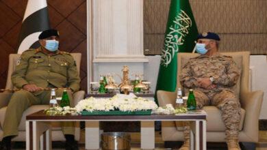 Pakistan Army Chief meets Saudi military top brass