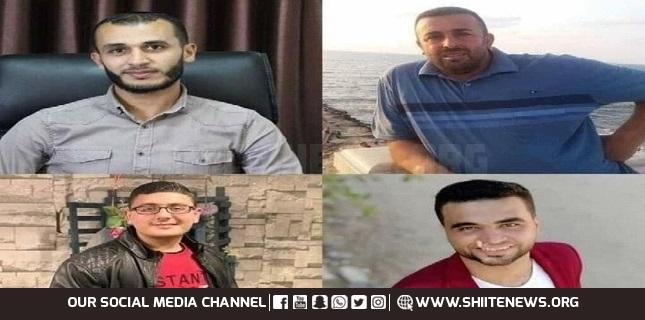 Four Palestinians killed
