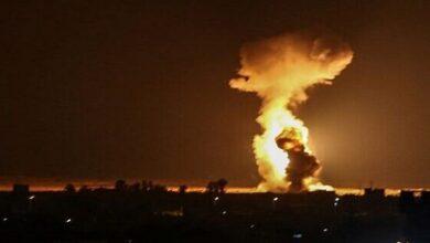 Israeli aircraft strike