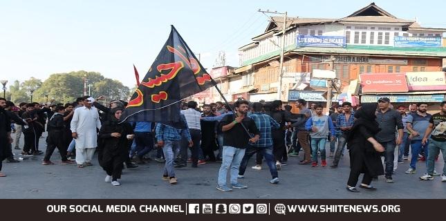 Kashmir mourns