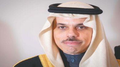 Saudi foreign minister Arrives in Baghdad