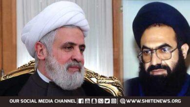 Hezbollah Lebanon assures support to Pakistan and Kashmir