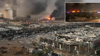Who benefiting from blast in Beirut