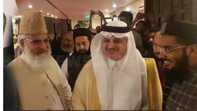 Probe into activities of Saudi ambassador in Pakistan demanded