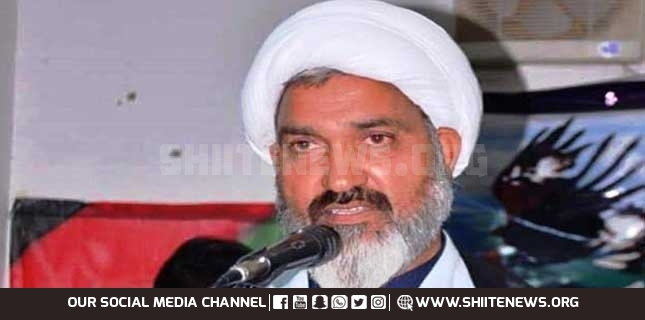 Allama Asadi warns security establishment of threat