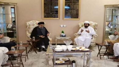 MWM delegation meets Pir Moin for condolences