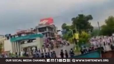 Sipah Sahaba and Tehreek Labbaik attack Shia mourning procession