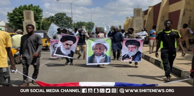Followers of Sheikh Zakzaky