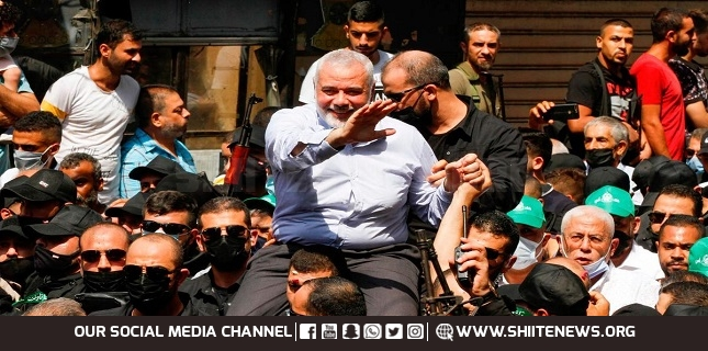 Haniyeh visited Ain Al-Hilwe