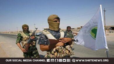 al-Hashd al-Shabi forces