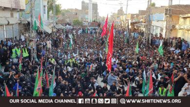 Shia Muslims take out Pakistan Rally in Matli