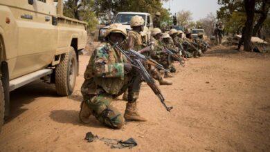 Nigerian soldiers were killed